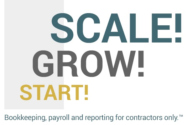 Start Grow Scale - Bookkeeping, payroll, and reporting for contractors only