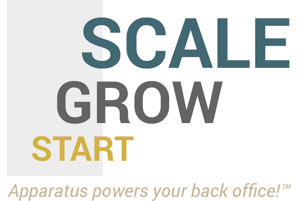 Scale, Grow, Start! Apparatus powers your back office!
