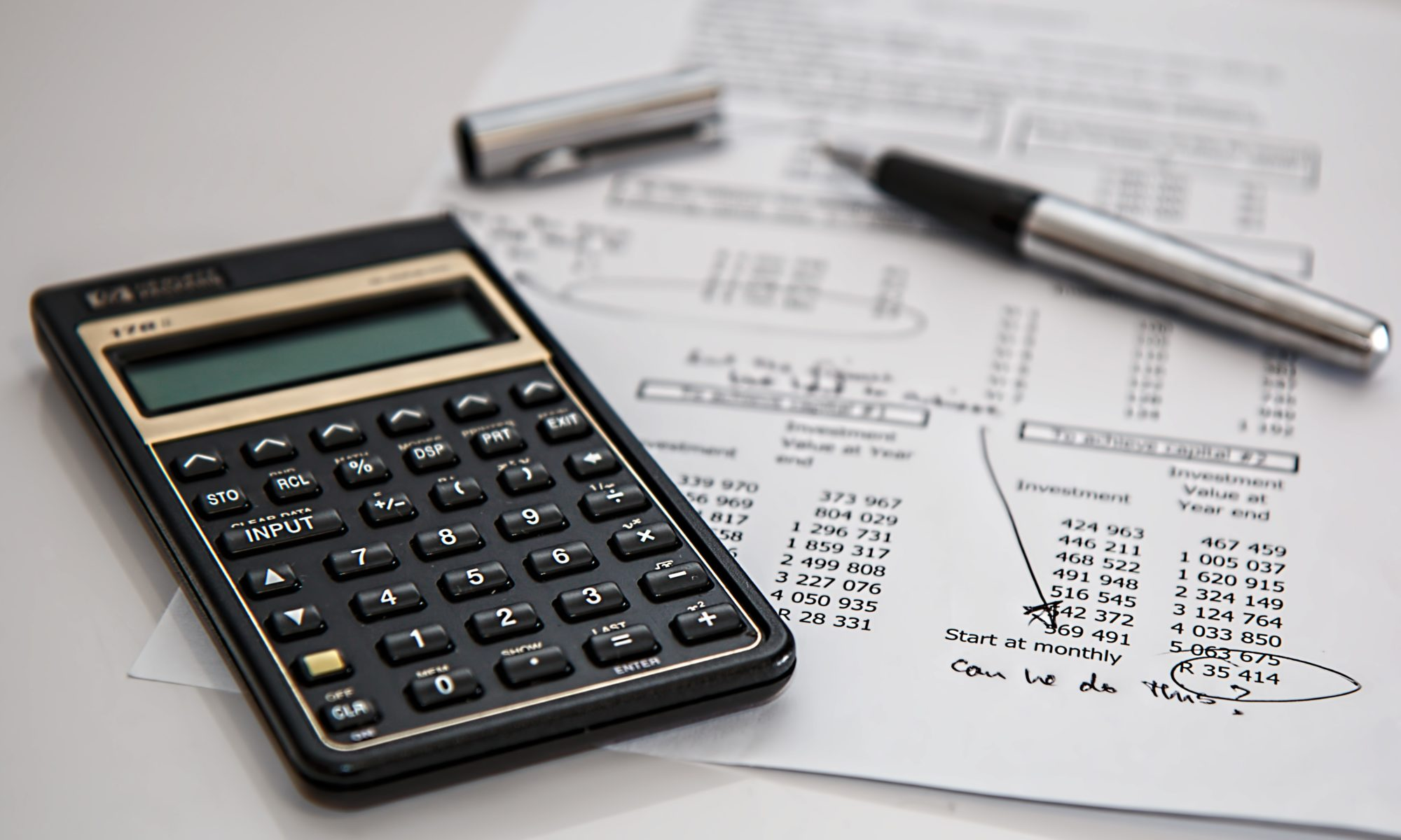 Calculating budget and expenses