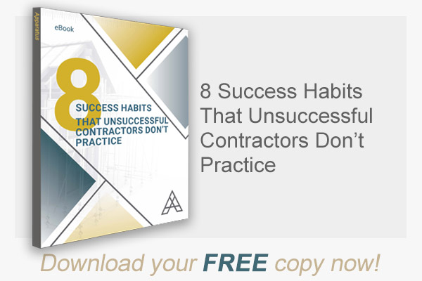 8 Things Successful Contractors Do That Unsuccessful Contractors Don't Practice