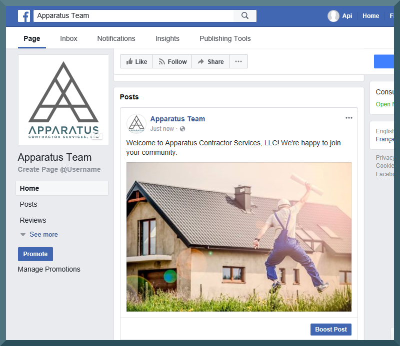 facebook business page step 11