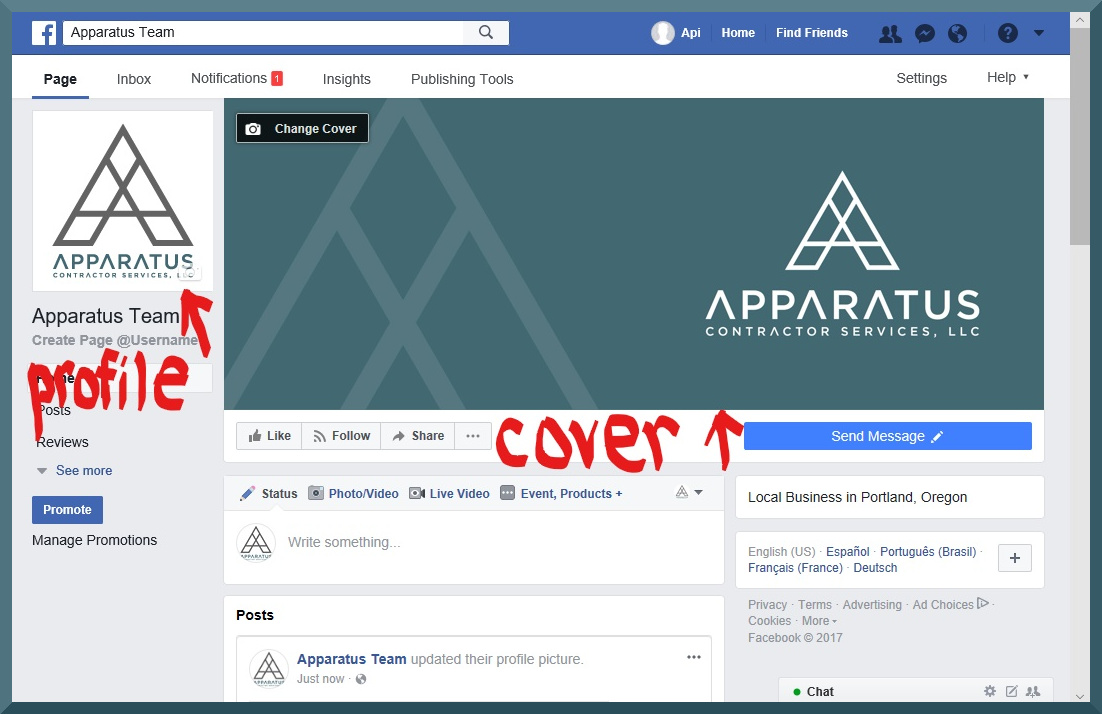 facebook business account step 5