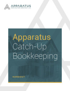 Catch-Up Bookkeeping