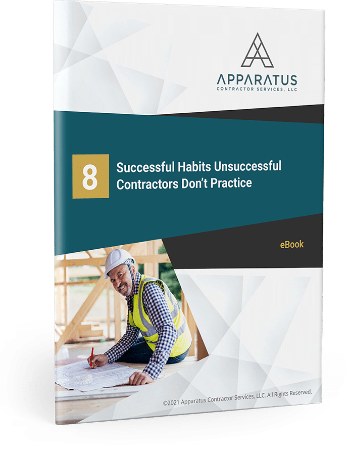 PDF eBook on Successful Habits Unsuccessful Contractors Don't Practice
